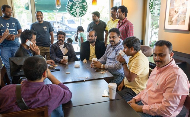 Grand Welcome For Balakrishna In USA Photos_20