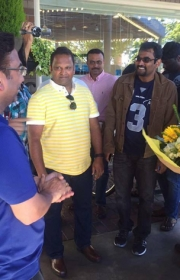 Grand Welcome For Balakrishna In USA Photos_27