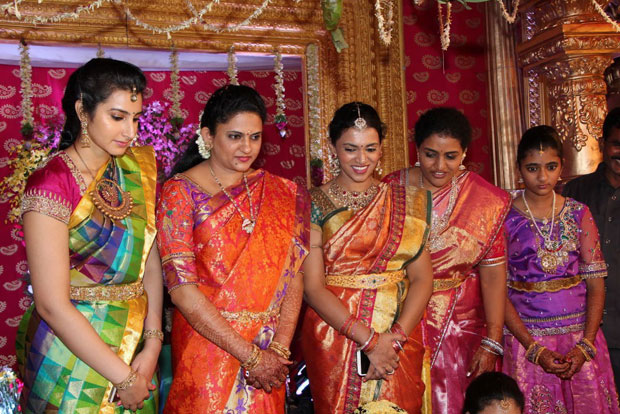 Nandamuri Mohana Krishna Daughter Marriage Photos2