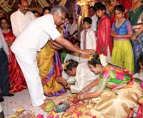 Nandamuri Mohana Krishna Daughter Marriage Photos27