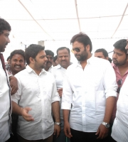 Nara Rohit attended Swatch Bharath (1)