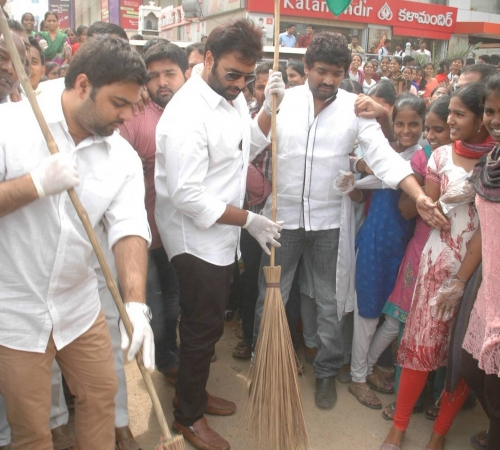 Nara Rohit attended Swatch Bharath (46)