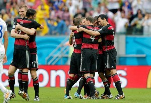 World Cup Germany Beat USA 1-0