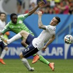 FIFA 2014 : France Beat Nigeria 2-0 To Enter Quarterfinals Of World Cup