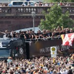 Jubilant Crowds Mass to Welcome German World Cup Heroes