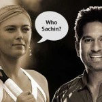 Sachin Tendulkar on Sharapova's comment