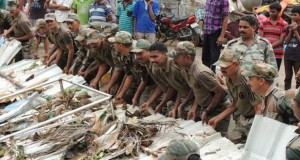 Cyclone Hudhud Relief Works in Vizag