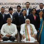 Modi meets Asian Games medalists