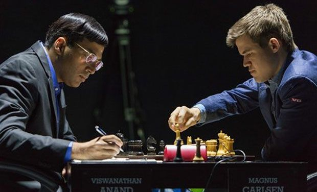 World Chess Championship: Anand draws with Carlsen
