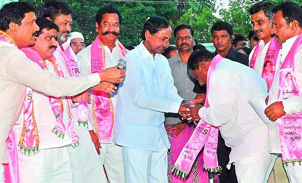 One more Congress MLA joined TRS