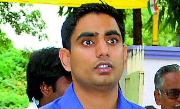 Nara Lokesh booked for tweet against KCR
