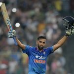 Rohit Sharma notched second double hundred