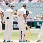 Aussies rattled after Kohli hit by bouncer