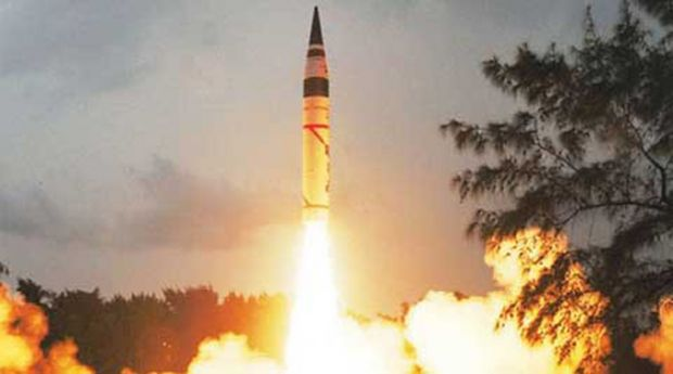 India successfully test fired Agni 5