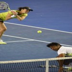 Leander Paes in Mixed Doubles Finals