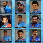 World Cup 2015 Team India Squad