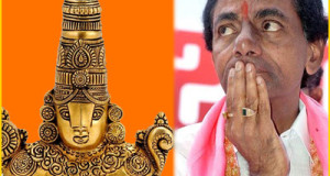 KCR to offer Rs 5 crore Jewellery to TTD