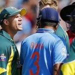 David Warner, Rohit Sharma in heated spat at MCG