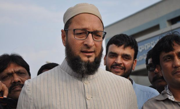 Bengaluru cops slapped a notice on Asaduddin Owaisi