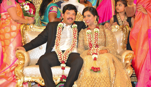 Rajendra Prasad Son Reception