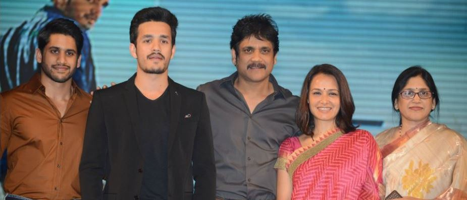 Akhil movie launch
