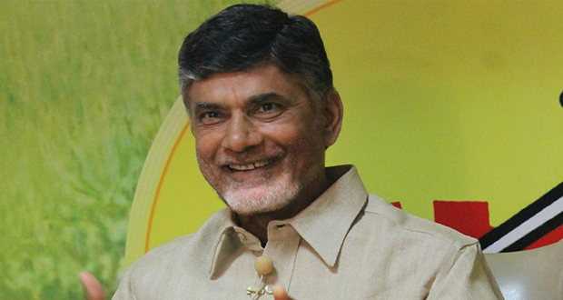 Get CM Naidu's Tweets As SMS For Free