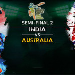 India vs Australia World Cup 2015 2nd Semifinal Live Streaming