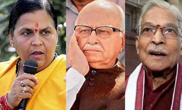 Supreme Court notice to L K Advani in Babri case