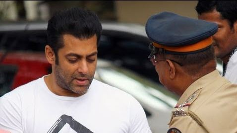 Salmans driver says he was driving car