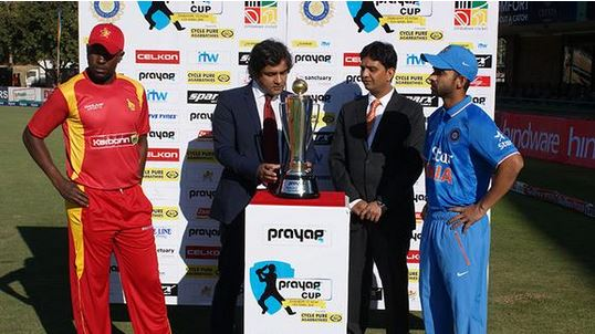 India finish at 255-6 in first ODI