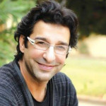 Wasim Akram narrowly escaped an attack
