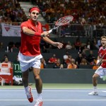 Roger Federer, Switzerland lose Davis Cup doubles match to Netherlands