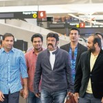 Grand Welcome For Balakrishna In USA Photos