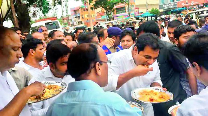 KT Rama Rao receives roads jolt