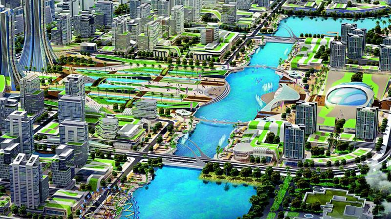 Amaravati in race for smart city