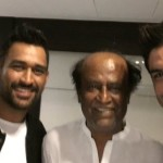 Sushant, Dhoni Meet Rajinikanth Ahead of their Film's Release