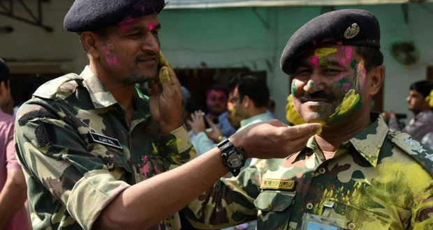 Holi Celebrations of BSF-BGB