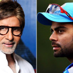 Kohli gets Bollywood support