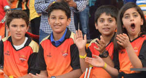 Super Star Mahesh's Son weared SRH Jersey