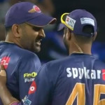 MS Dhoni's sarcastic reply to Kevin Pietersen during RPS vs MI IPL 2017