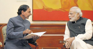 KCR to take up quota bill with Modi