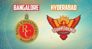 The thrill of IPL-10 starts from today, between Hyderabad Vs Bangalore