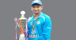Andhra Cricket Association Selected Cricketer Yashwanth Naidu