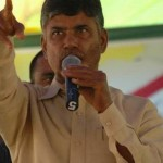 Chandra babu Naidu has warned a person in public