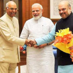 PM Modi, Amith Saha Greetings to President Ramnath Kovind