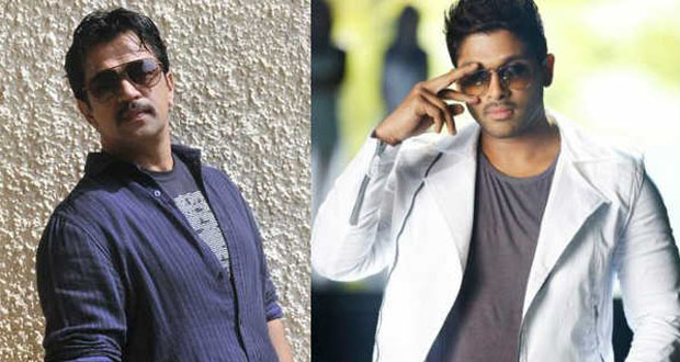 Arjun Plays Father role for Allu Arjun | Teluguabroad