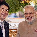Narendra Modi, Abe to lay foundation stone  bullet train